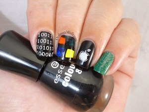 Nail Anarchy April pc vs mac nail art