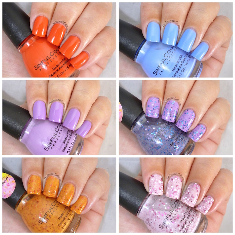 Sinful Colors About blooming time collection
