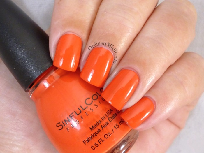 Sinful Colors - Energetic red