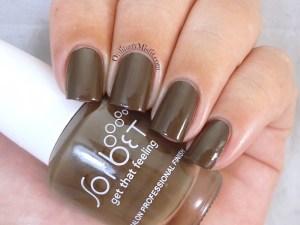 Sorbet - Chic me baby nail polish swatch