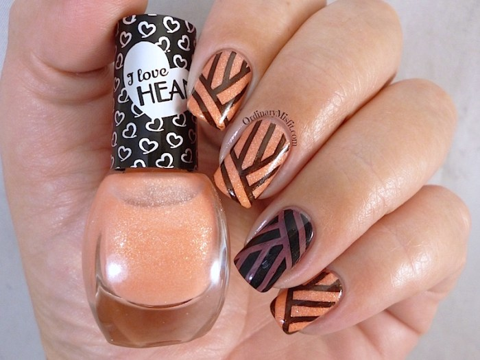 Hean I love Hean Sugar collection #857 with nail art