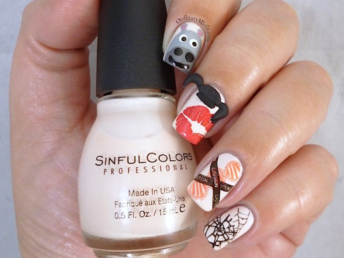 Nail Anarchy Challenge May Abby Sciuto NCIS nail art