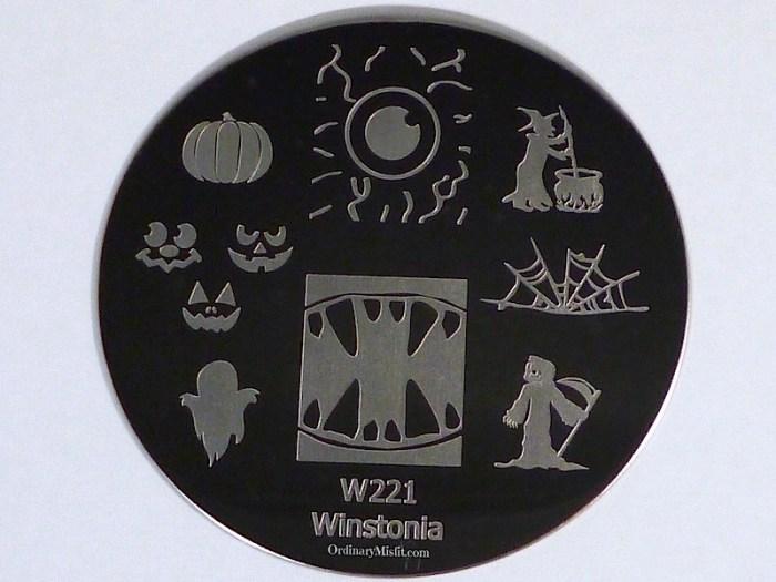 Winstonia stamping plate W221