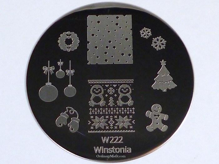Winstonia stamping plate W222