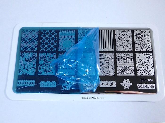 Born Pretty Store Stamping PLate BP L020 half film
