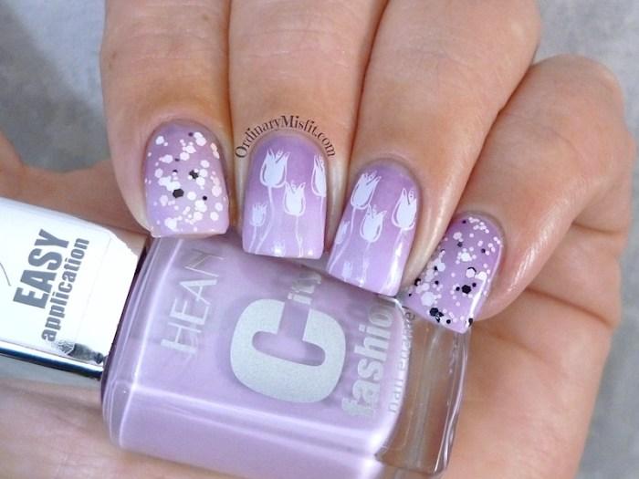 Hean City Fashion #176 with nail art 2