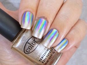 31DC2015 Day 8 metallic nails