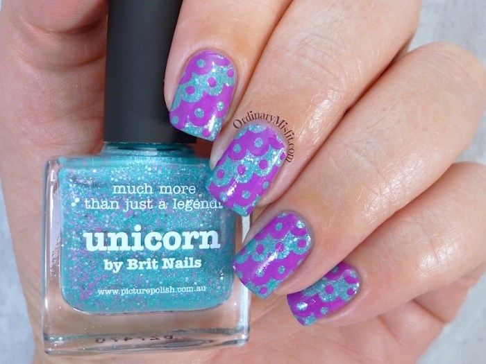 piCture pOlish - Unicorn with nail art 3