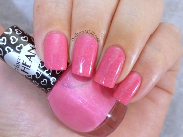 Hean I love Hean Sugar collection #856 with topcoat