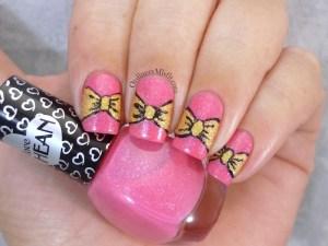 Hean I love Hean sugar #852 and #856 with nail art