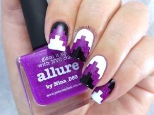 Tribal Allure nail art