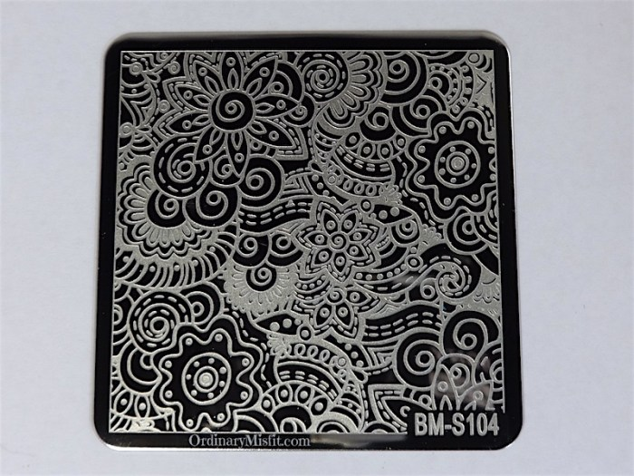 Bundle Monster Shangri la stamping plates BM-S104