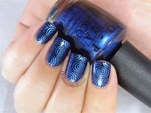 NAILLinkup metallic blue
