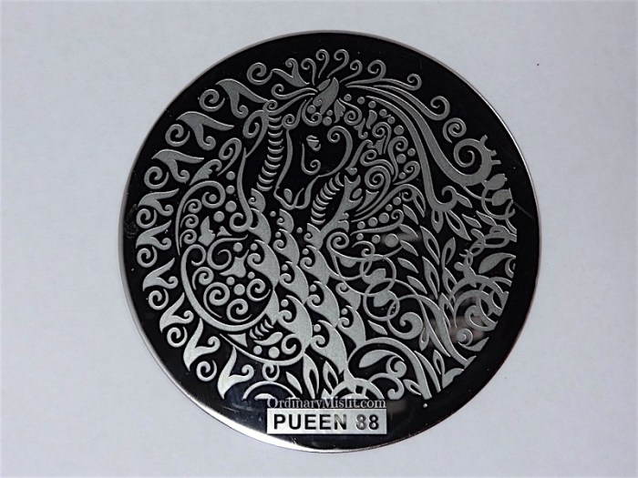 Pueen Buffet leisure stamping plates pueen88