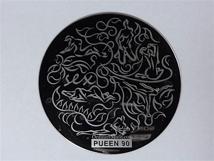 Pueen Buffet leisure stamping plates pueen90