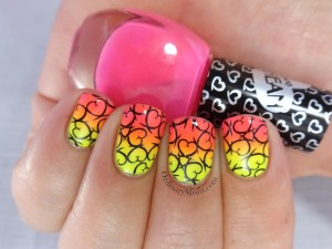 Pueen Make your Day stamping plates nail art