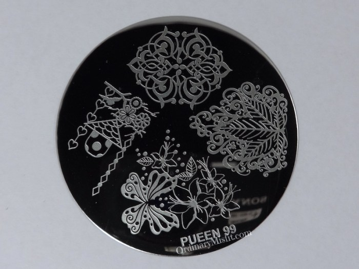 Pueen Make your Day stamping plates pueen099