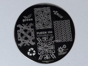 Pueen Make your Day stamping plates pueen104