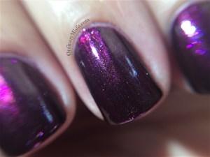 Rebel stamped nail art macro 2