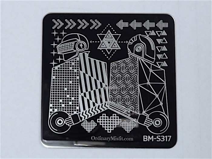 Bundle Monster Musik City stamping plates  BM-S317