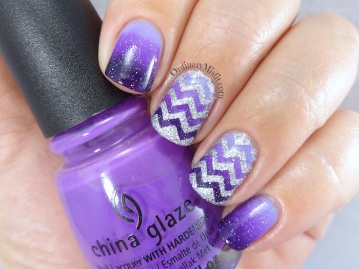 31DC2016 Day 6 - Violet nails
