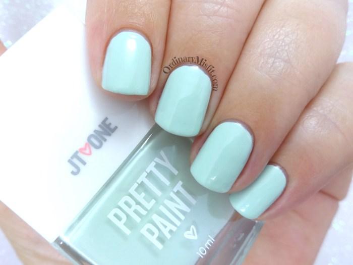 JT One Pretty Paint - #Mintyfresh