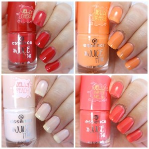 Essence - Juice it trend collection collage