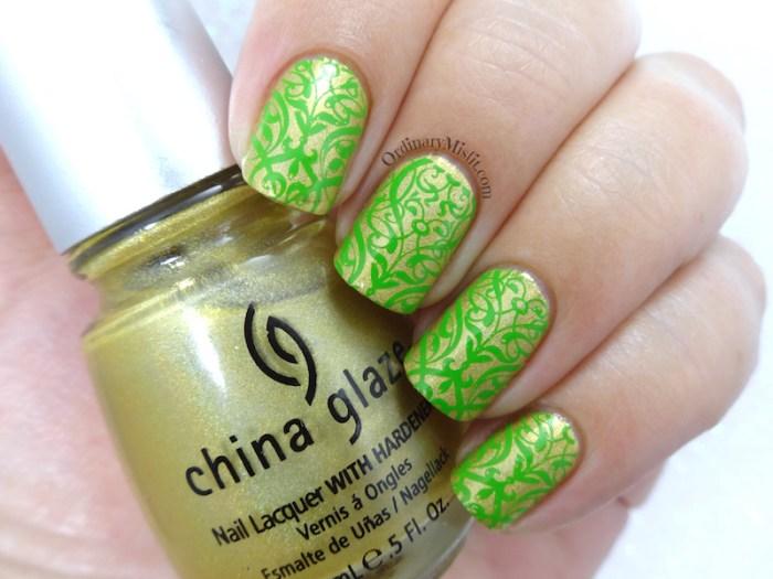 Born Pretty Store Starry Sky stamper nail art