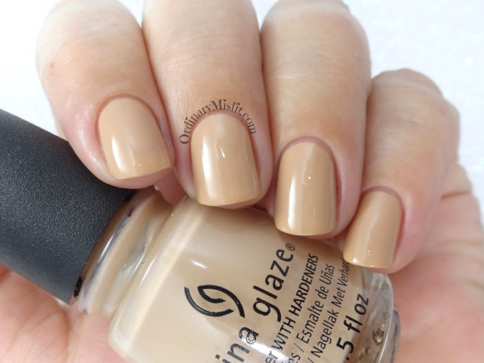China Glaze - Sorry I'm latte