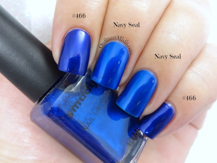 Comparison Hean - #466 vs Smudge - Navy seal