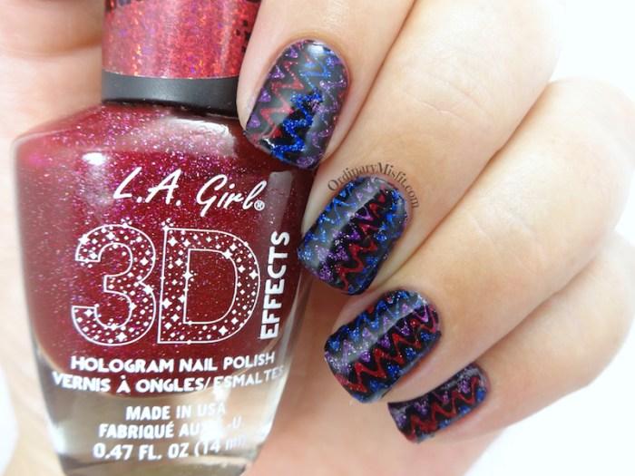 BP-L050 wave nail art