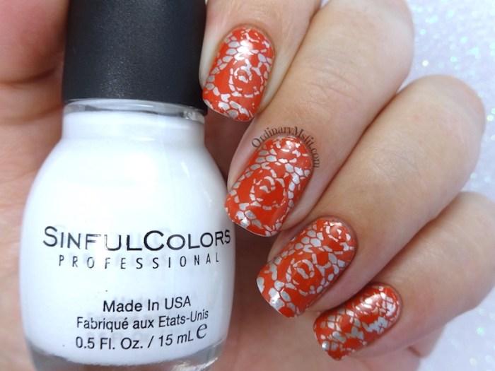 52 week nail art challenge - Silver