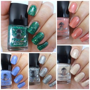 Dollish Polish - Scrooged collection Collage