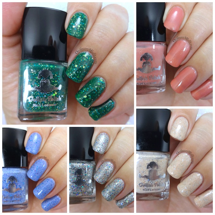 Dollish Polish Scrooged collection
