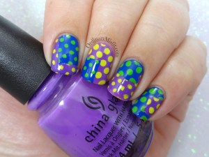 Something dotty nail art
