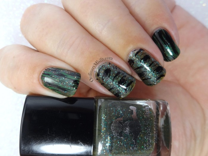 Dollish Polish - Jeeper Creepers, Where'd you get those peepers? nail art