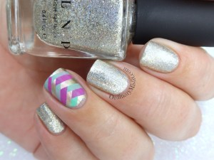 Fame and fishtails nail art
