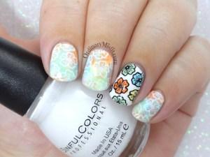 52 week nail art challenge - Flowers