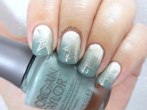 Secrret Santa nail art
