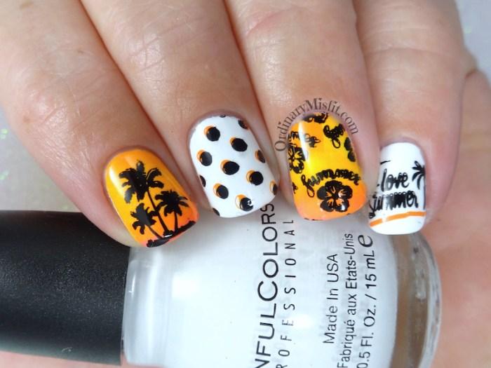 52 week nail art challenge - Summer