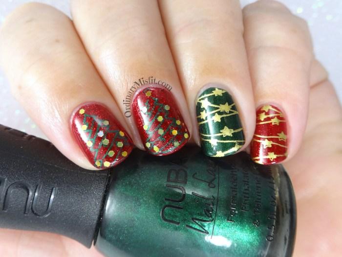Oh christmas tree nail art