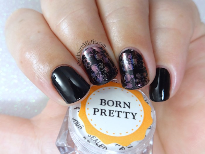 Born pretty Store holographic chameleon chrome pigment powder nail art
