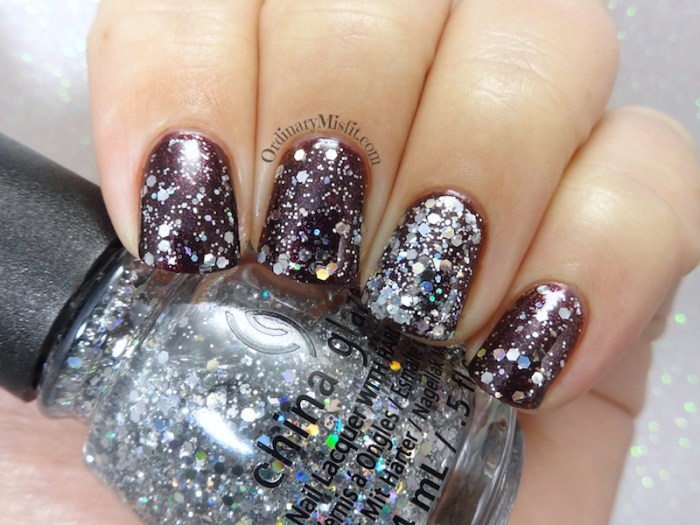 China Glaze - Disco ball drop