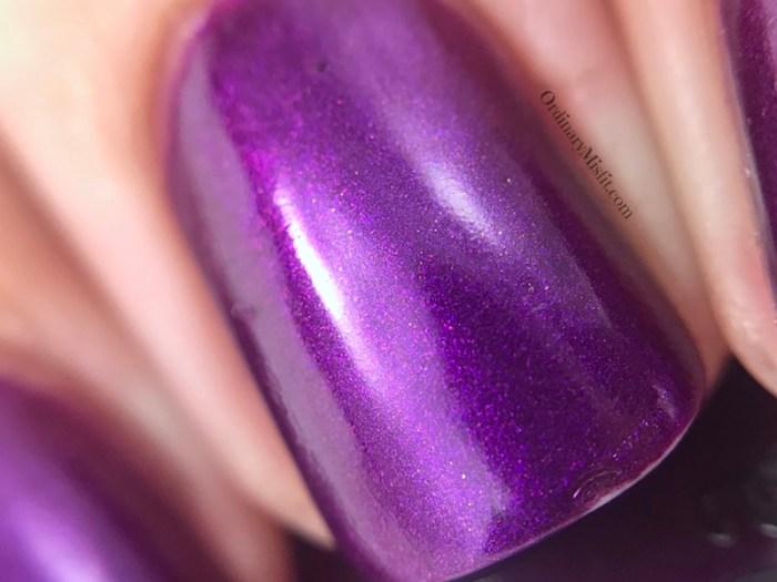 China Glaze - Purple fiction macro