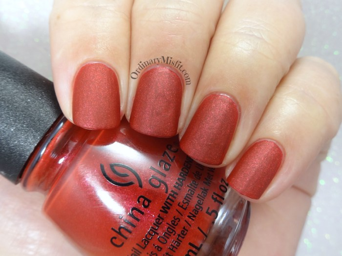 China Glaze - Santa's side chick