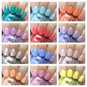 China Glaze - Chic physique collection collage