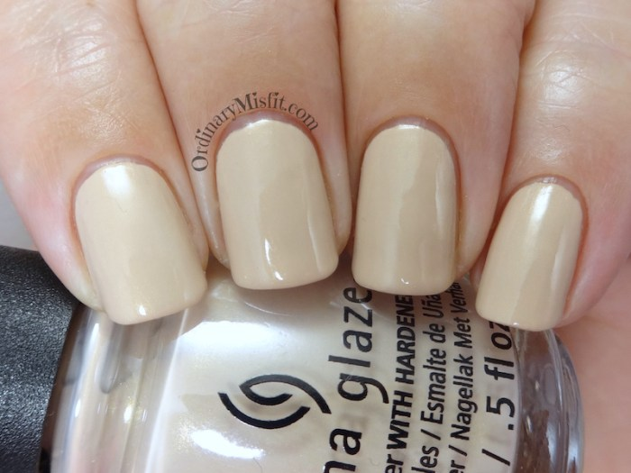 China Glaze - I'll sand by you