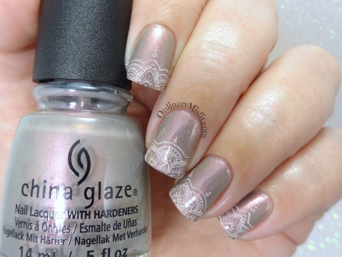 Born Pretty Store review - Mandala S004 stamping plate v2