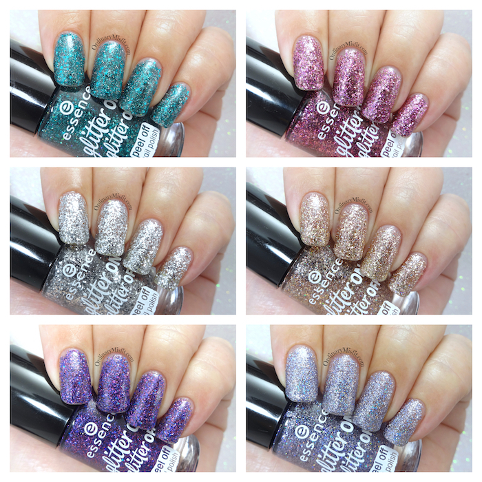 Essence - Glitter on, Glitter off collection