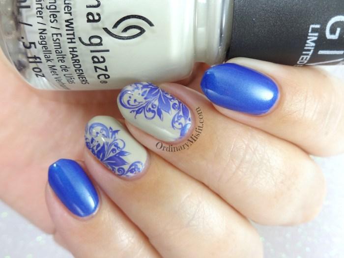 Blueberry swirls